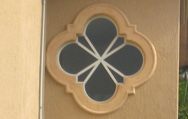 Wall Designs and Foam Medallions