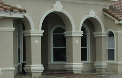 Architectural Foam Decorative Columns